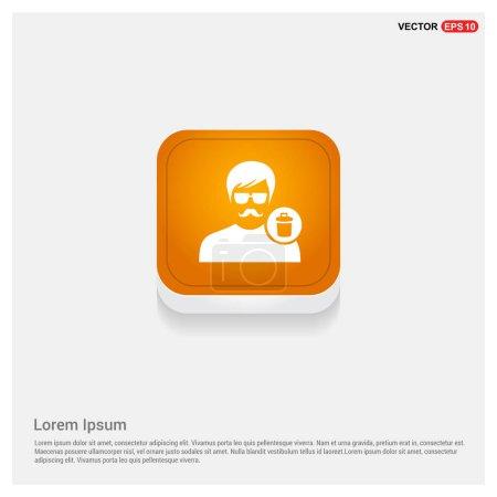 Delete User icon