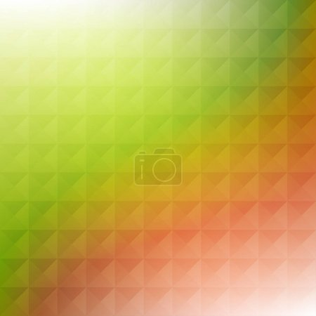 Illustration for Colorful abstract geometric polygonal pattern, vector illustration - Royalty Free Image