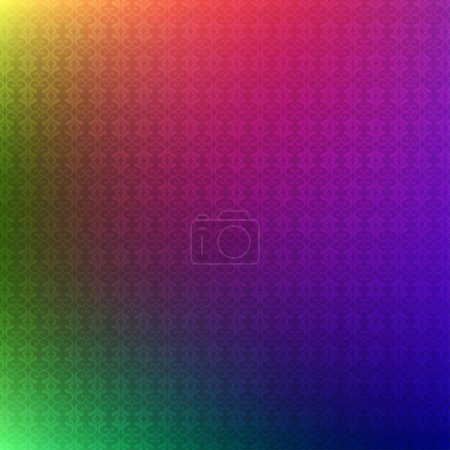 pattern with gradient colors