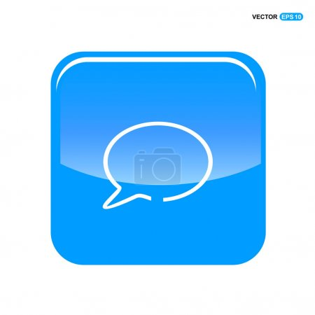 Chat speech bubble icon