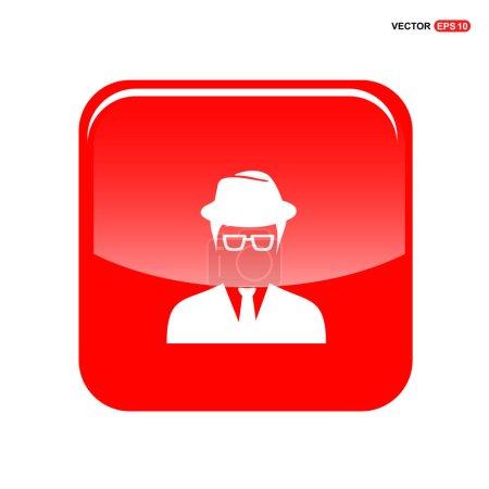 man in hat avatar icon