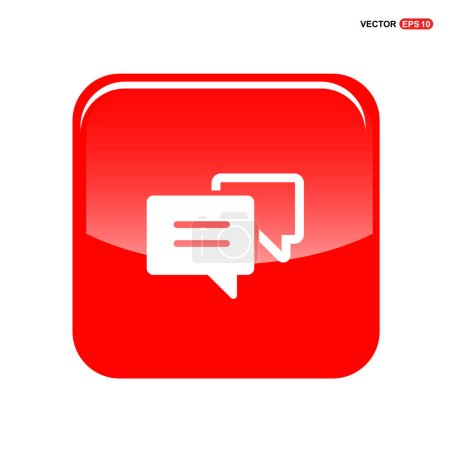 Chat speech bubbles icon