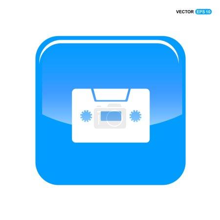 Music tape icon