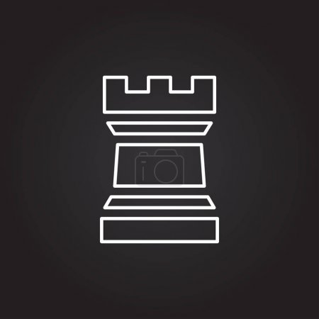 icon of chess figure sign
