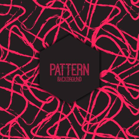 Pattern with seamless lines