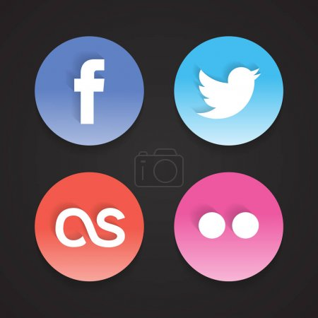 social  Web Icons Set