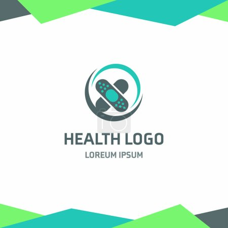 health logotype icon