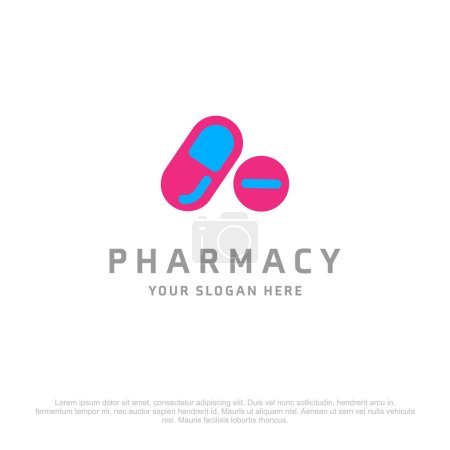 pharmacy logo with free space for text