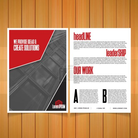 template of business brochure