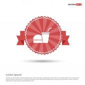 Fast food flat icon vector illustration