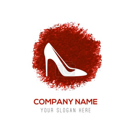 Female high heel shoe icon