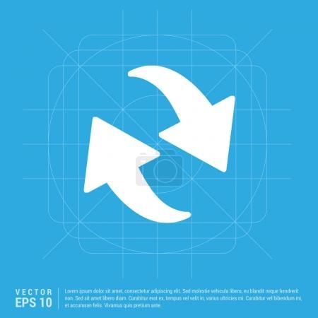 circle arrows icon