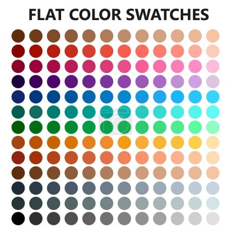 set of color swatches