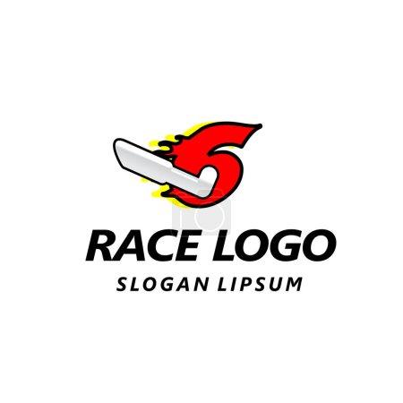 Letter logo design template