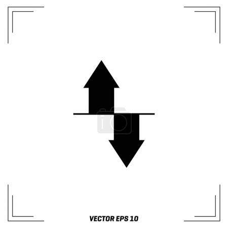 download and upload arrows icon
