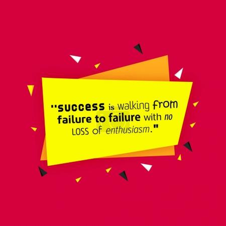 pattern with Success Quote