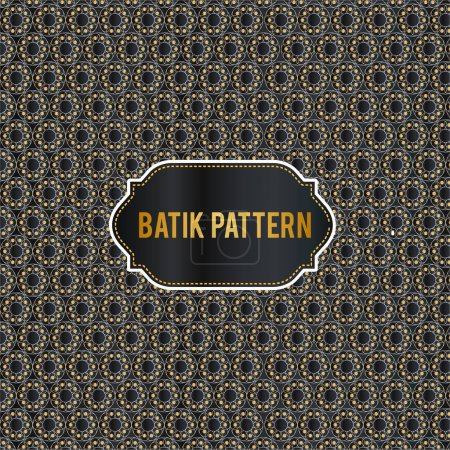 Ethnic colorful circular pattern