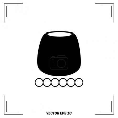 cauldron flat icon