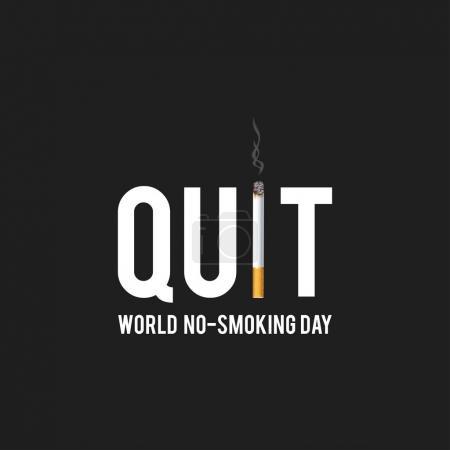 World No Tobacco Day card