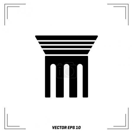 Pillar flat Icon