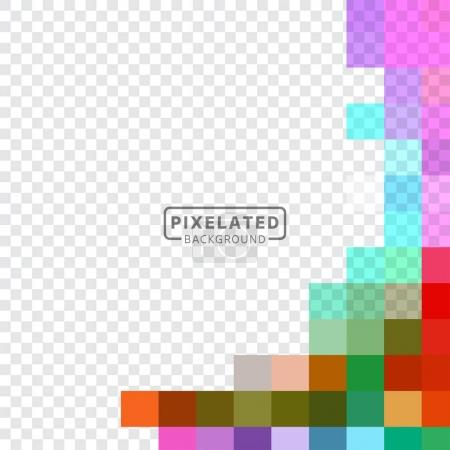 Pixelated Colorful Pattern