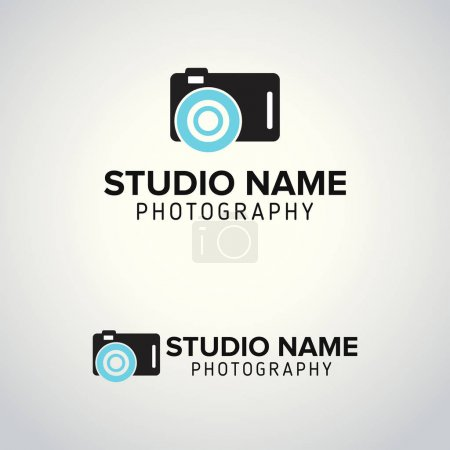 Black camera logos