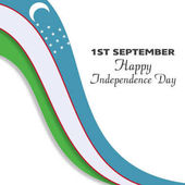 Uzbekistan Independence Day card