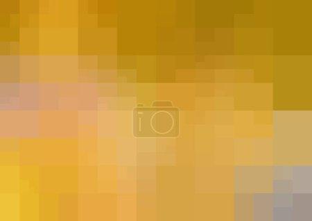 Dark Yellow vector abstract background.