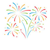 Firework background can be ues for celebration party and new year event vector illustration