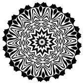 """Постер, картина, фотообои """"Мандала. Этнические декоративные элементы. Старинные декоративные элементы. Иллюстрация Восточный узор. Ислам, арабский, индийский, Турецкий, Пакистан китайские ottoman мотивы"""""""