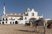 Hermitage of El Rocio in the province of Huelva
