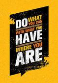 Motivation quote on orange background