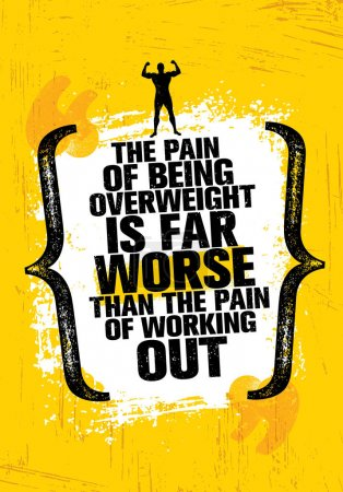 Pain Of Being Overweight