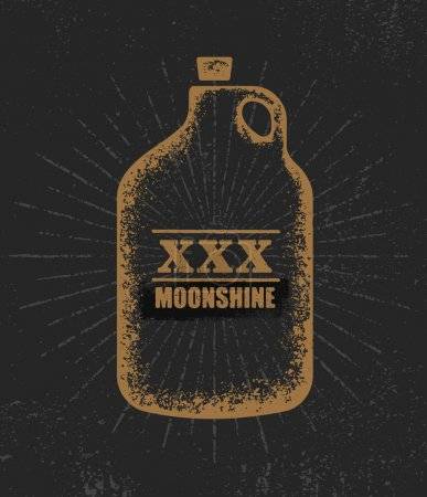Moonshine Jug ,Corn Spirit