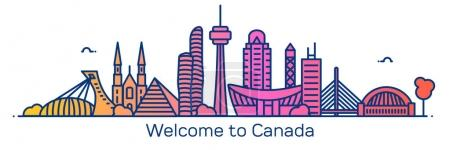 Welcome to Canada banner