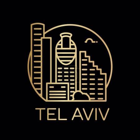Tel Aviv city icon