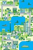 green city map