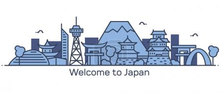 Welcome to Japan banner