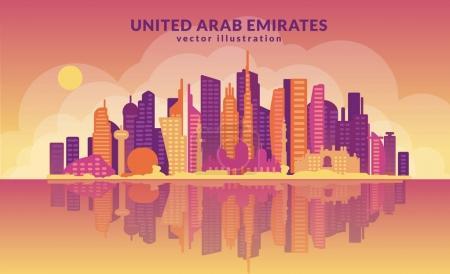 United Arab Emirates skyline