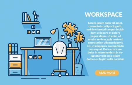 Creative Workspace for website and mobile website