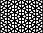 Islamic geometric seamless pattern