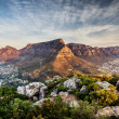 Table mountain sunset, Cape Town, South Africa...