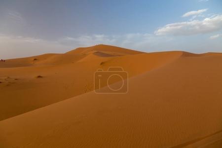 Sahara desert, great landscape in Morocco