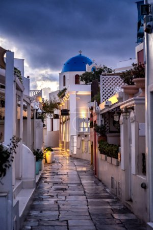 Santorini classically Thera and officially Thira is an island in the southern Aegean Sea