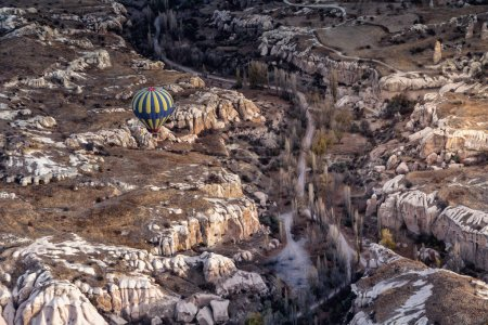 Wonderful landscape in Cappadocia Turkey