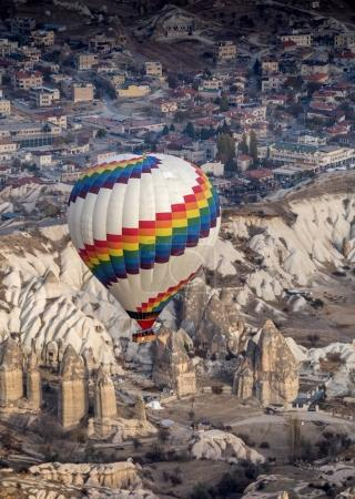 Wonderful landscape in Cappadocia, Turkey