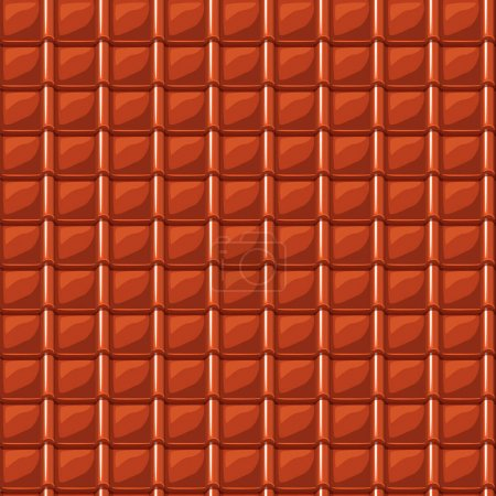 red cartoon red roofing roof tile seamless texture