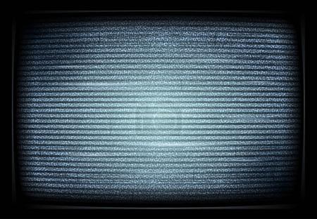 No signal TV illustration. interference. Noise tv ...