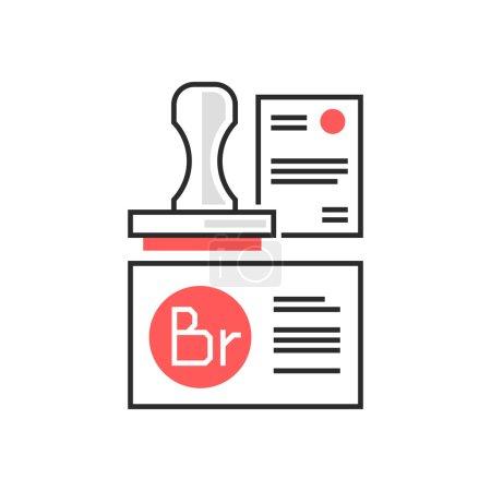Sweets icon, branding concept