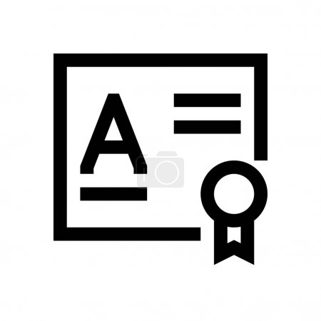 Diploma mini line icon